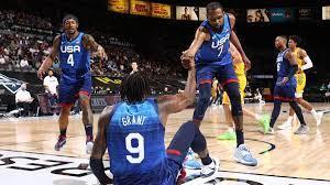 Herren-Basketball des Team USA ...