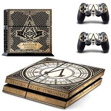 sony ps4 logo. assassin\u0027s creed syndicate logo sony ps4 console skin kit ps4