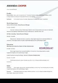 Resume Examples Word Functional Resume Format Example Fast Food ...