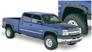 Bushwacker Pocket Style fender flares 2003-2006 Chevy Silverado ...