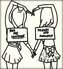 Small Picture Best Friend Quotes Coloring Pages Boy Are Whatever Vs Best inside