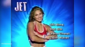 Remember Jet from Gladiators You ll never guess what she s doing.