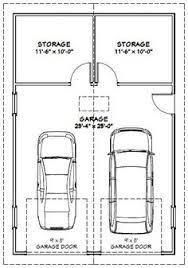 2 car garage door dimensionsgarage dimensions  Google Search  Andrew Garage  Pinterest