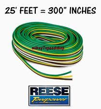 car & truck towing & hauling for toyota hilux ebay Reese Trailer Wiring Harness reese trailer wire 16 guage bonded 4 way hitch wiring harness tail brake light (fits toyota hilux) reese trailer hitch wiring harness