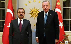 Cumhurbaşkanı Erdoğan, Merkez Bankası Başkanı Kavcıoğlu'nu kabul etti -  Internet Haber