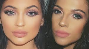 kylie jenner pink eyes makeup tutorial