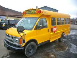 2000 Chevy 3500 Mini School Bus for sale by Arthur Trovei & Sons ...