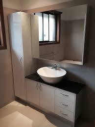 Bathroom Pantry Cabinet Bathroom Pantry Mirrored Shaving Cabinet And Modern Vanity Unit