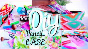 Decorate Pencil Case Diy School Supplies Pencil Pouch Locker Organizer Youtube