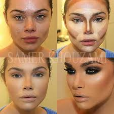 for her skin tone i would use mary kay 05 bronze cream to powder foundation