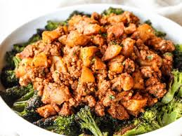 ground turkey potato skillet the