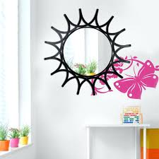 iron wall mirror decorative sunflower iron wall mirror best s in ping