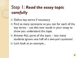topics to write an informative essay on