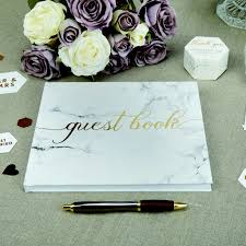 Wedding Guest Book With Gold Foil By 2by2 Creative