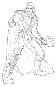 Small Picture Thor coloring pages to print ColoringStar