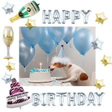 127pcs Balloons Set Kingtop Foil Helium Balloon Happy Birthday