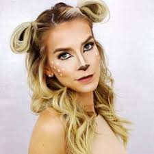 quick easy hair makeup tutorial makes a really cute last minute costume bambi makeup but this hairstyle can work for any sweet li