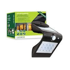 Smart Guardian Motion Sensor Light Luceco Led Solar Wall Light Black 1 5w Motion Sensor Waterproof Security Light 3 Modes Easy Installation Front Yard Patio
