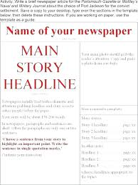Have Novel Template Word Means Outline New News Story