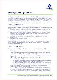 Bid Examples Proposal Under Fontanacountryinn Com