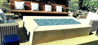 glass fire pits propane propane fire pit glass rocks propane fire pit with glass beads outdoor