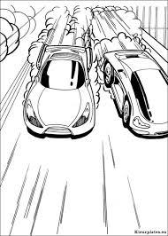 Hot Wheels Kleurplaten Kleurplateneu