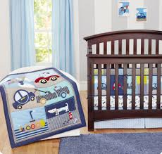 splendid baby nursery baby nursery room decoration using car baby boy bedding crib set including light blue baby bed valance light grey stripe baby