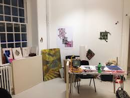 student profile sarah porter graduate diploma in fine art  sarah porter s studio space image courtesy of the artist