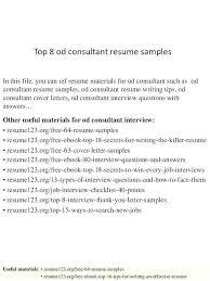 Green Consultant Sample Resume Ha