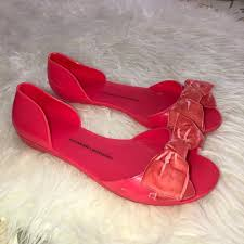Chinese Laundry Shoe Size Chart Chinese Laundry Sweet Caroline Coral Jelly Sandals