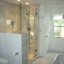 glass shower surround half glass shower wall best showers images on bathroom bathrooms design ideas pictures glass shower surround half glass shower wall