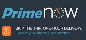 amazon prime now logo. Delighful Prime Amazon Prime Now Onehour Delivery Launches In The Valley With Logo L
