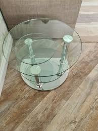 dwell tryka glass coffee table
