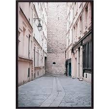 <b>Постер в рамке Дом</b> Корлеоне Переулок Париж 50x70 см ...