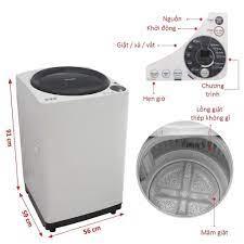 Sắm máy giặt Sharp chính hãng Thái Lan chỉ 3.750.000đ tại Nguyễn Kim   Máy  giặt, Sấm, Thái lan
