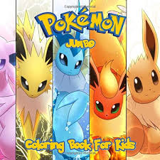 You rule 807 nintendo pokemon coloring pages to print. Pokemon Coloring Book Great Jumbo Coloring Pages For Kids Jackson Harry L 9781701788602 Amazon Com Books