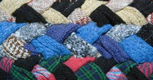 handwoven rag rug instructions ehow uk how to make a rug out of old jeans
