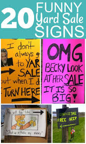 Make A For Sale Sign 20 Awesome Garage Sale Signs Side Gigs Extra Cash
