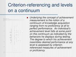 criterion referenced assessment ppt standards based assessment powerpoint presentation id 3977524