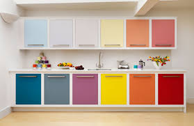 Kitchen Design Colors Lovely Colorful Kitchen Cabinet With Bright Delectable Colorful Kitchen Ideas