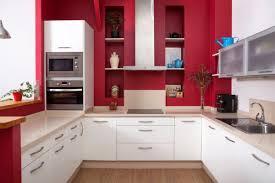 Elegant Cocinas Rojas Y Blancas