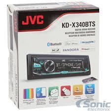 jvc kd x340bts single din bluetooth in dash digital media car stereo jvc kd-x340bts wiring harness at Jvc Kd X330bts Wiring Diagram