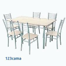 Chaises Cher Pas Chaise Cuisine Table De Avec Oerxdcb