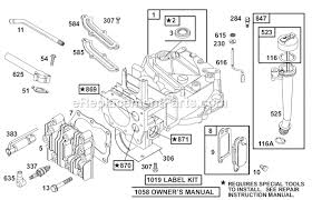 briggs and stratton a series parts list and diagram  click to close