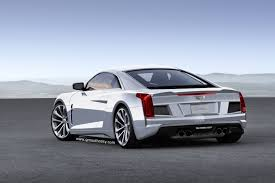 2018 cadillac roadster. beautiful roadster cadillac midengine supercar rendering rear with 2018 cadillac roadster e