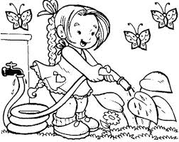 Flower Coloring Coloring Pages For Kids