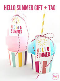 Summer Gift Tags Free Summer Printables That Will Inspire You To Create Plus