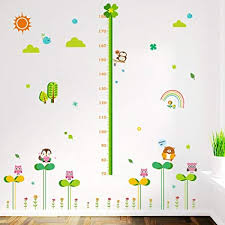 Amazon Height Chart Amazon Com Kids Height Growth Chart Giraffe Height Chart