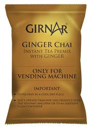 Premix Tea Powder For Vending Machine Simple Girnar Instant Tea Premix With Ginger 48kg Vending Pack