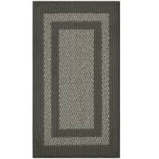 maples rugs graphite gray indoor throw rug common 2 x 3 actual